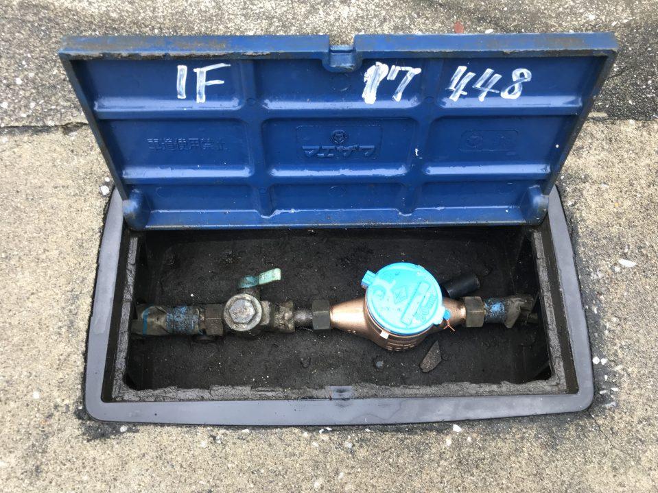 水道メーター 漏水