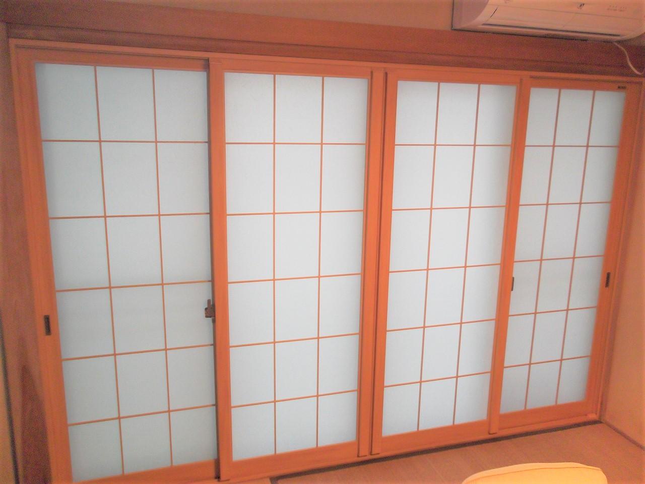 内窓 和室 マンションリフォーム