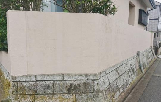 ブロック塀 工事前