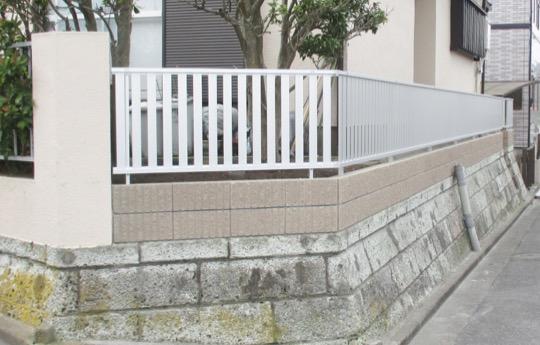 ブロック塀 工事後