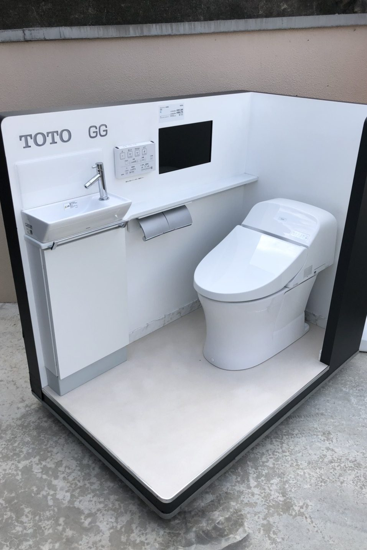 TOTO GGシリーズ タンクレスのようなトイレ