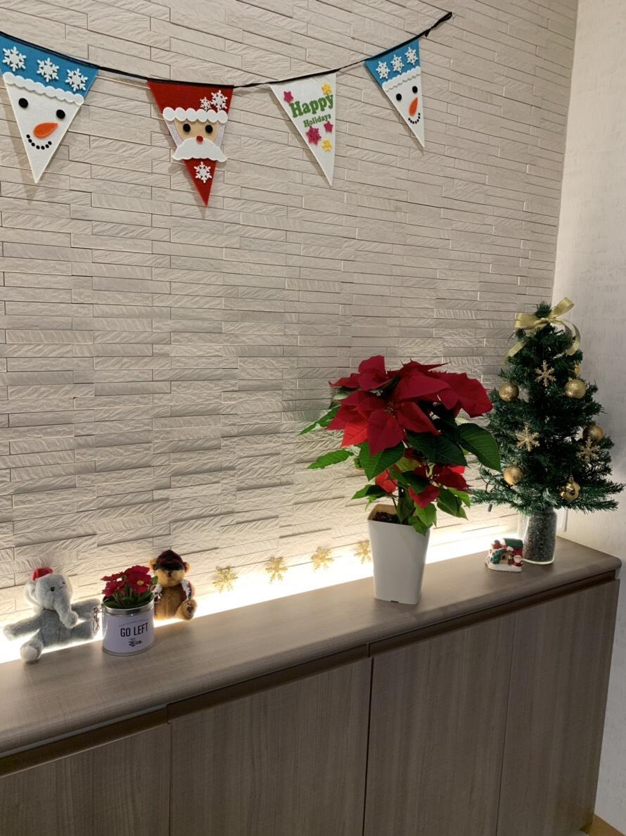 クリスマス カウンタークリスマス装飾