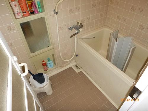 浴槽リフォーム前