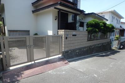 Vol 55 大谷石塀工事
