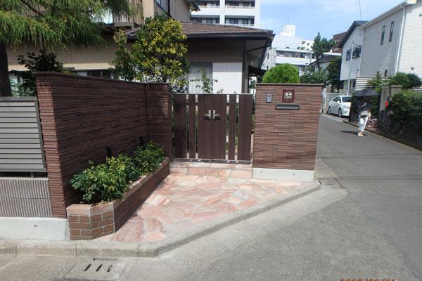 Vol 57 藤沢市 ブロック塀工事