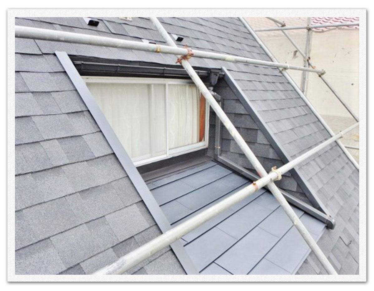 屋根半面葺き替え工事