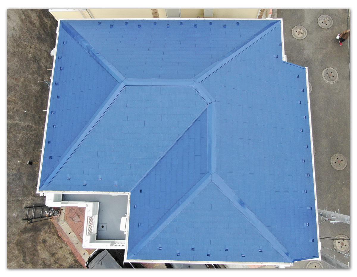 屋根・外壁塗装工事・玄関廻り工事