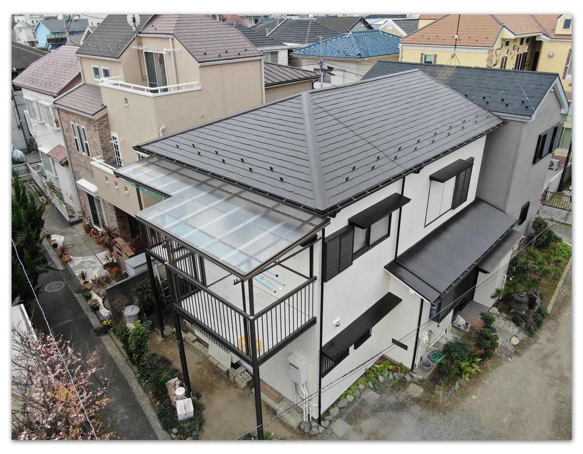 屋根塗装・外壁塗装・雨樋交換工事