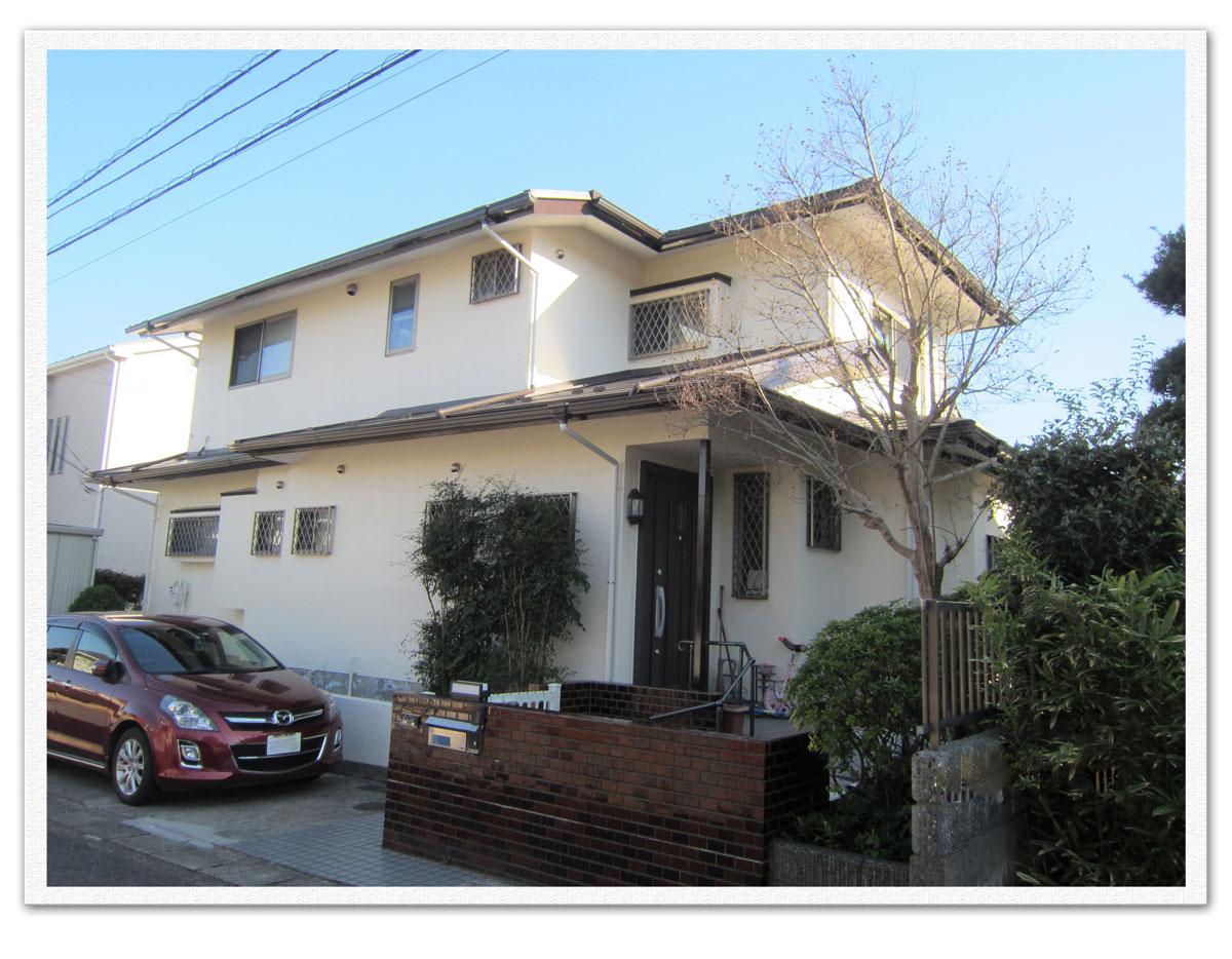 屋根・外壁塗装、雨樋交換工事(横浜市金沢区N様邸)