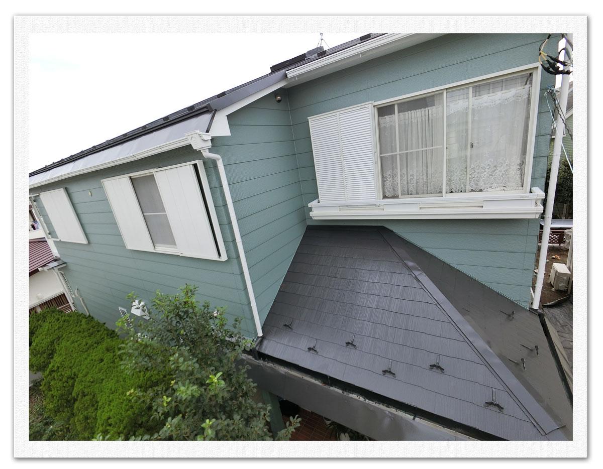 屋根葺き替え・外壁塗装工事画像