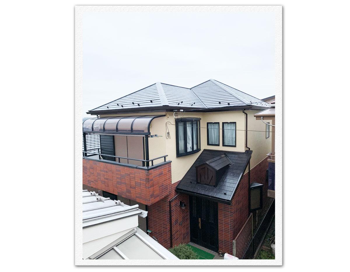 屋根・外壁塗装工事(横浜市磯子区K様邸)画像